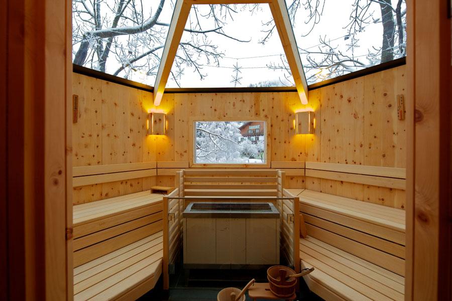 Bagno turco e sauna in Carinzia sui Monti Nock